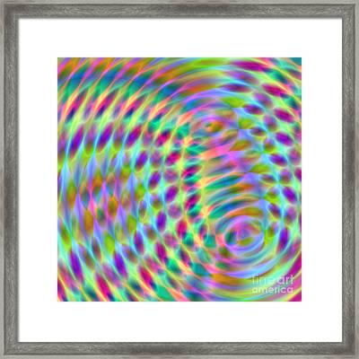 Wave 001 Framed Print by Rolf Bertram