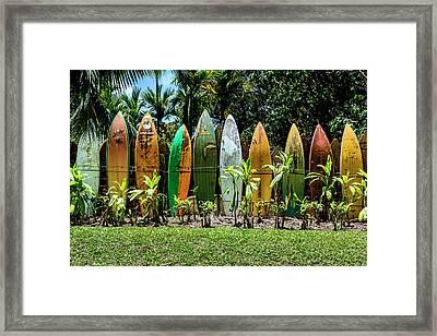 Waveless Framed Print by Kelley King
