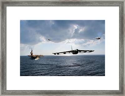 Waverunner Framed Print by Peter Chilelli