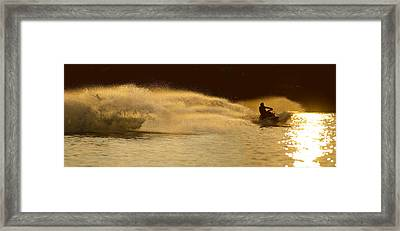 Waverunner Weekend Framed Print by Steve Gadomski