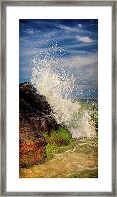 Waves Framed Print by David Hahn