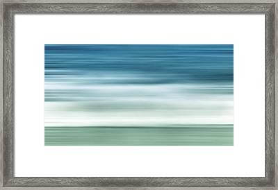 Waves Framed Print by Wim Lanclus