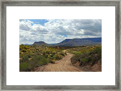 Way Out West Framed Print by Gordon Beck