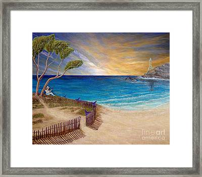 Way To Escape Framed Print by Kimberlee Baxter