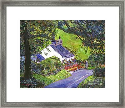 Wayside House Framed Print by David Lloyd Glover