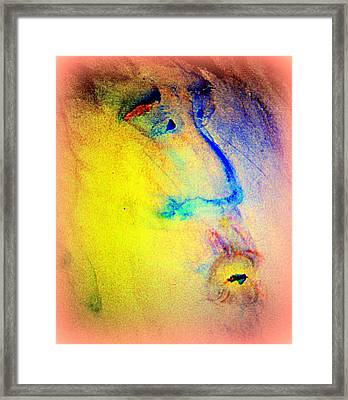 We Are Family, So Let's Stick Together Until We Are All Dead  Framed Print by Hilde Widerberg