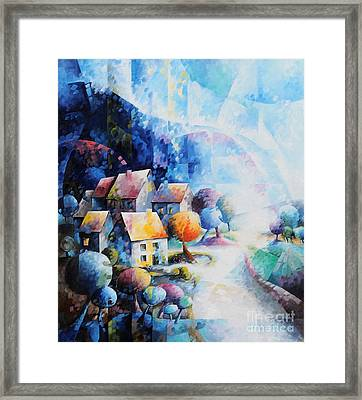 We Are Our Story Framed Print by Beatrice BEDEUR