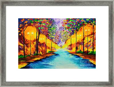 We Are Together 1 Framed Print by Mariana Stauffer