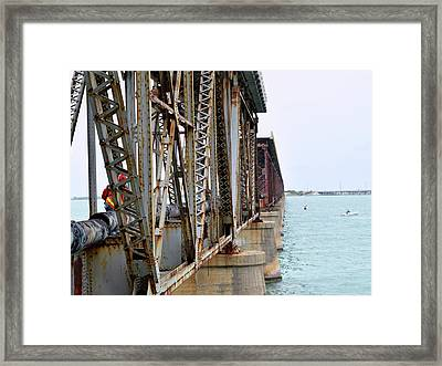 We Can Hear It Rust Framed Print by Pat Turner