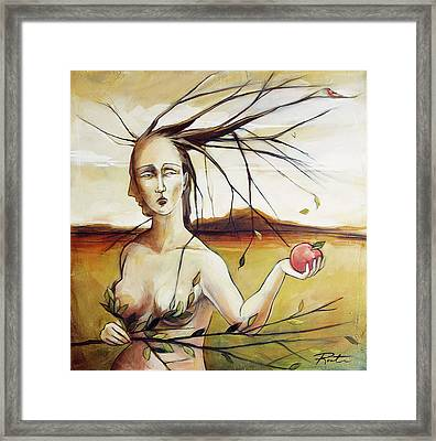 We Carry Knowledge Framed Print by Jacque Hudson