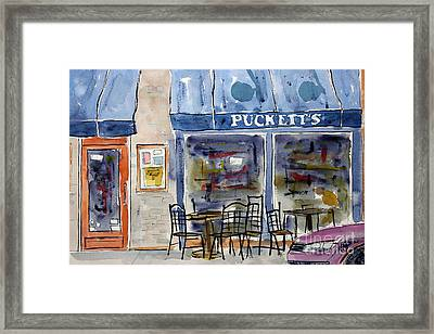 We Chews Pucketts Framed Print by Tim Ross