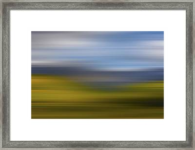 We Go Walking X Framed Print by Jon Glaser