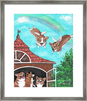 We Miss You As Well Framed Print by Margaryta Yermolayeva