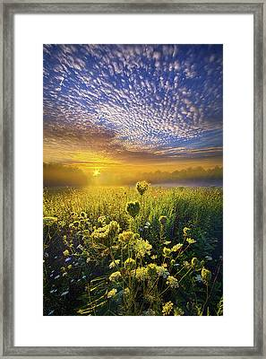 We Shall Be Free Framed Print by Phil Koch
