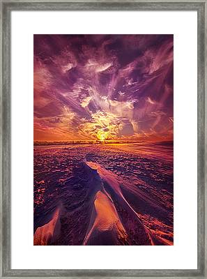 We Wait And We Wonder Framed Print by Phil Koch