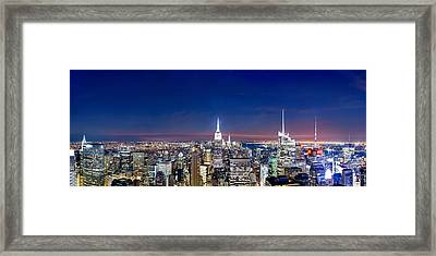 Wealth And Power Framed Print by Az Jackson