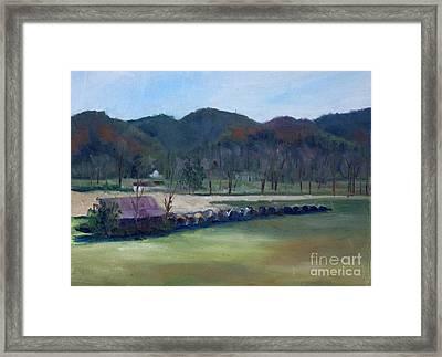 Wears Valley, Tn Framed Print by Janet Felts