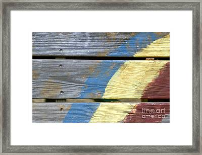 Weathered Framed Print by Jeannie Burleson