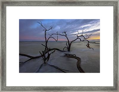 Weathered Souls Framed Print by Mike Lang