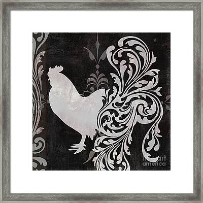 Weathervane I Framed Print by Mindy Sommers