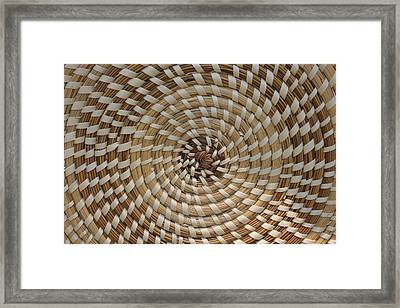 Weaved Framed Print by Dana  Oliver