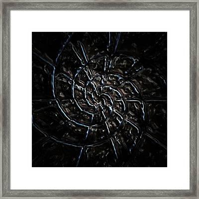Web Of Deception Framed Print by Ljubomir Arsic