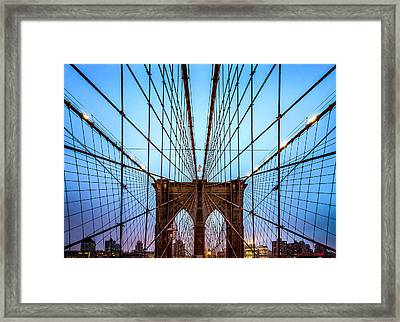 Web Of Passion Framed Print by Az Jackson