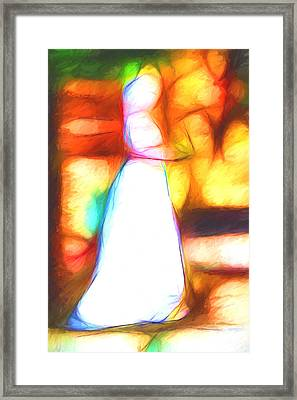 Wedding Day Framed Print by John Haldane