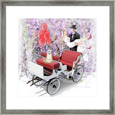 Wedding Party Framed Print by Ericamaxine Price