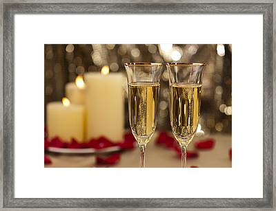 Wedding Reception Framed Print by Ulrich Schade