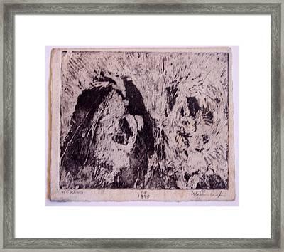 Wedding Framed Print by William Douglas