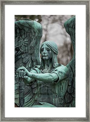 Weeping Angel Framed Print by Dale Kincaid
