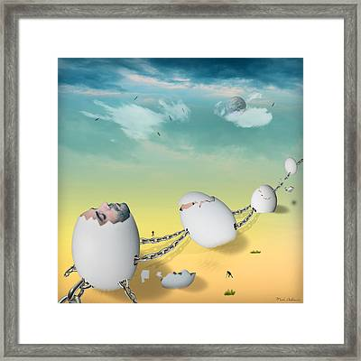 Weird Dream Framed Print by Mark Ashkenazi