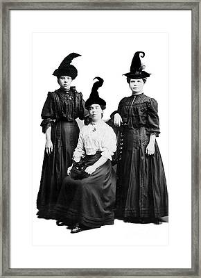 Weird Sisters Framed Print by Gillian Singleton