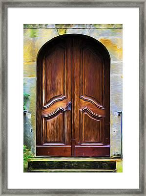 Welcome  Framed Print by Georgiana Romanovna