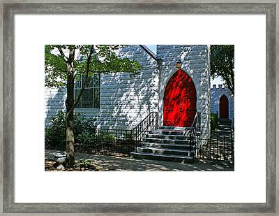 Welcome Framed Print by Sandy Keeton