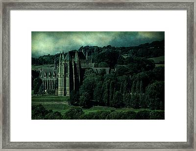 Welcome To Wizardry School Framed Print by Chris Lord