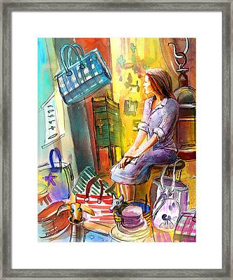 Welcome To Italy 05 Framed Print by Miki De Goodaboom