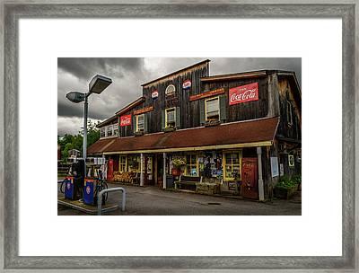 Wells Corner Market Framed Print by Alan Brown