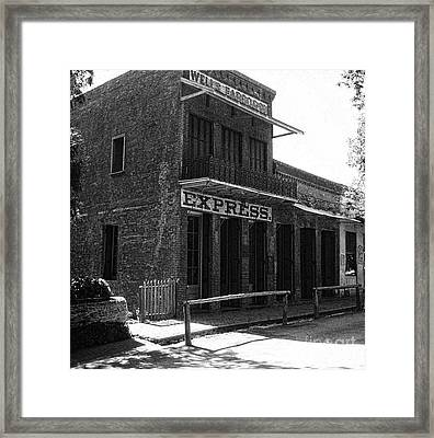 Wells Fargo Express Company  Framed Print by Chris Berry