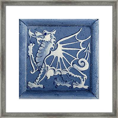 Welsh Dragon Panel Framed Print by Joyce Hutchinson