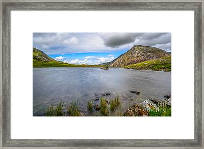 Welsh Mountain Framed Print by Adrian Evans