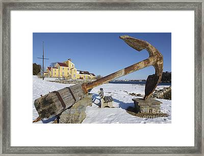 Wentworth Coolidge Mansion - Portsmouth New Hampshire Framed Print by Erin Paul Donovan