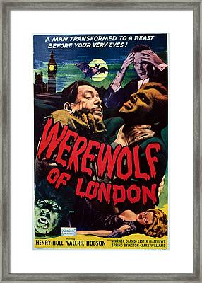 Werewolf Of London, Warner Oland, Henry Framed Print by Everett