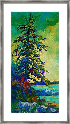 West Coast Sentinel Framed Print by Marion Rose
