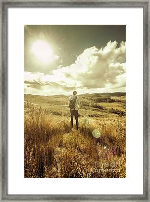 West Coast Tasmania Explorer Framed Print by Jorgo Photography - Wall Art Gallery