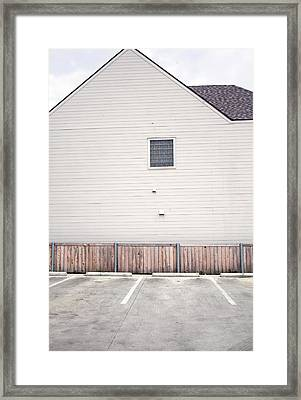 West-facing Rise Framed Print by Ross Odom