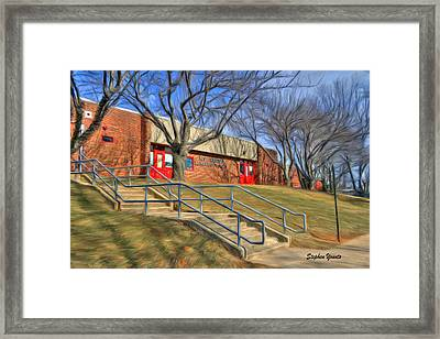 West Friendship Elementary School Framed Print by Stephen Younts