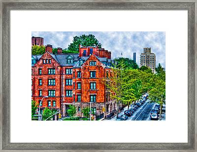 West Village By The High Line Framed Print by Randy Aveille