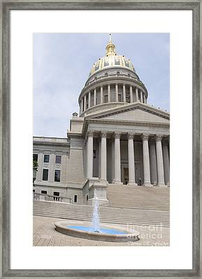 West Virginia State Capitol Framed Print by Thomas R Fletcher